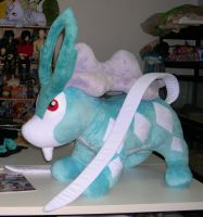 Large Suicune by Bladespark