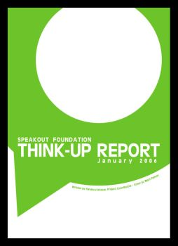 Speakout Think Up Report Cover by dugebag
