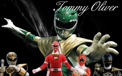Tommy Oliver the one ranger team by rocktimusprime