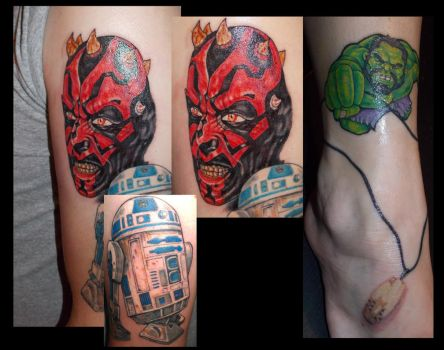 darth maul...hulk me..lol by Mr-Tasi