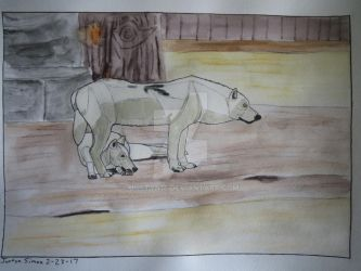 White Wolves by Justyn16