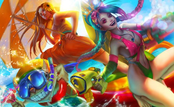 LOL contest: Let's party by thuyngan