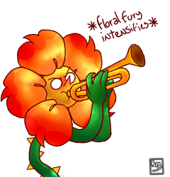 floral fury by ImACoolFlower