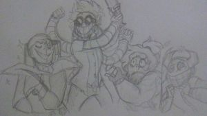 Draw Your Squad: (My Villains) by StantheSpider