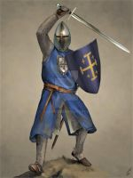 Knight of Edessa by JLazarusEB
