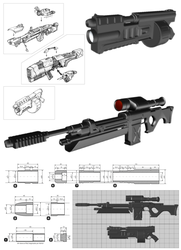 Prop Weapons - design by E1design