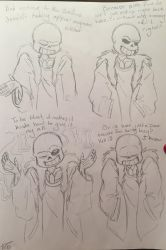 Sans dialogue 3  by Fantacylandgirl