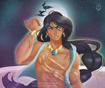 Male Jasmine by Queen-Galaxy