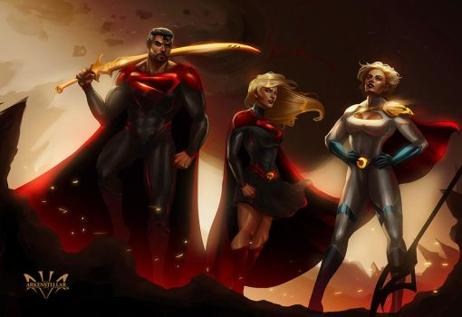 The Kryptonians by Arkenstellar