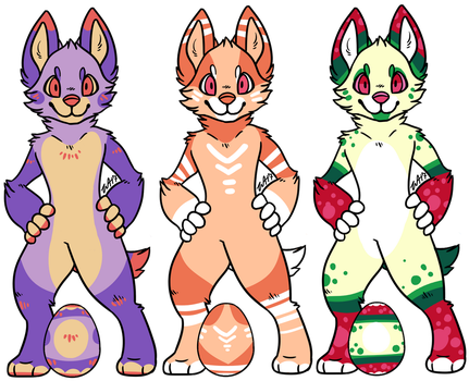 Scavenger Hunt Adopts [CLOSED] by XxWolfArtxX