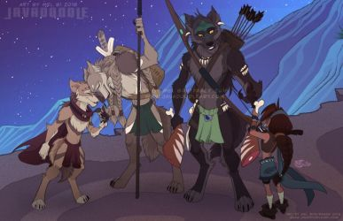 The Nomads by Javadoodle