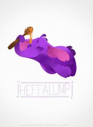 Heffalump sketch_dailies by Sonny0029
