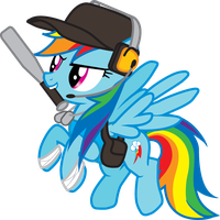 Rainbow Dash- Scout by Smashinator