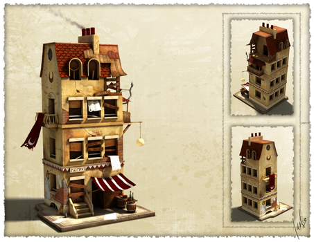 Cathair Mundi Building 3D by fallonclarke