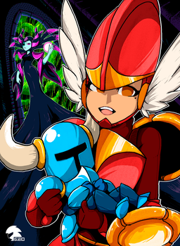 ShovelKnight [Pixel-Art] by GeoExe