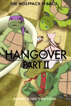 The TMNT Hangover Part 2 by Rurim