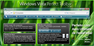 Windows Vista Perfect Toolbar by WindowsNET