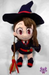 Akko Kagari Little Witch Academia by TrashKitten-Plushies