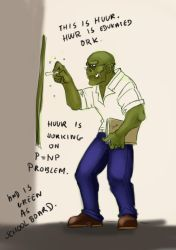 Huur Educated Ork by nothingandsth