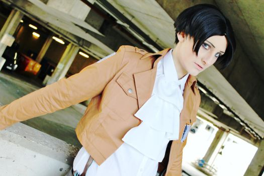 AOT: The Captain by Legend-Of-Zya
