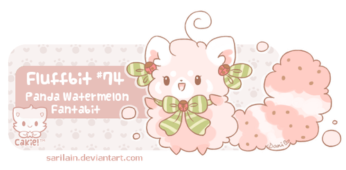 Fluffbit #74 for krizpie by Sarilain