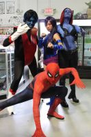 Spidey and The X-Men by TS-Calibrate