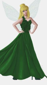 Tinkerbell Evening Dress by CarolinaSoul