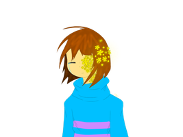 Flowerfell!Frisk by TheSkeletonKid