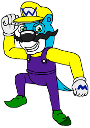 Dressed As Wario by kylgrv