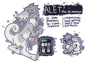 Alet (Approved) MYO Chimereon by Labyriinthus