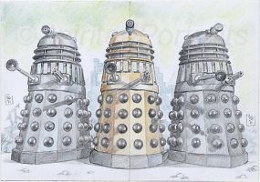 Daleks by Timedancer