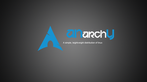 Arch linux An-Arch-Y dark wallpaper by Lazo by LazoBaa