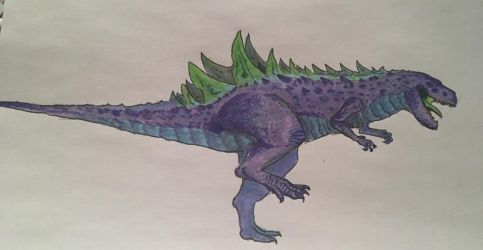A disgrace to the Godzillas, a saviour to my art by dinomaster15