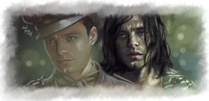 Bucky - The Ghost of me by LadyMintLeaf