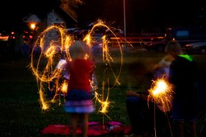 Fireworks 1 - The Butterfly by robertllynch