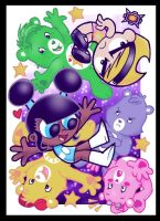 OMG Its Full of Care Bears by slycherrychunks