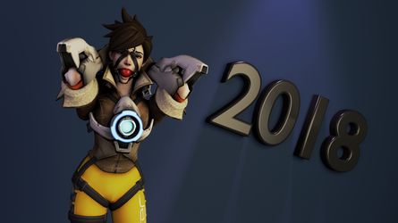 Happy New Years! - 2018 by Algoid
