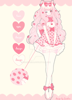 [CLOSED] Strawberries and Creme [$60] by sugarypuff