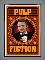 Pulp Fiction: The Wolf by MarkItZeroNET