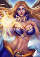 Lauriel from Arena Of Valor by minnhsg