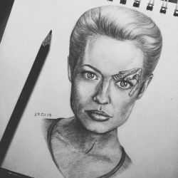Seven of Nine by aquacobalamin
