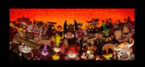 El Tigre villains rule by mexopolis