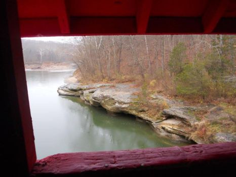 Narrows Covered Bridge by Lady-Xythis
