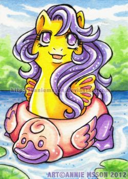ACEO Baby Sea Star by AnnieMsson