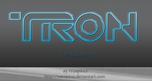 Tron Legacy Text Effect by WampiruS