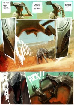 Gladiator life_Comic_PG004 by ZeenChin