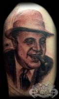 Al Capone by state-of-art-tattoo