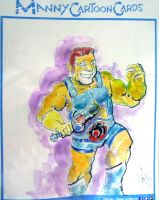 Larry-Keeny-Lion-O by mannycartoon