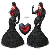 Queen of Hearts | stock by Labecula