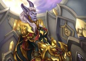 [WoW] Israhaa the paladin CM by Ryarenpaw
